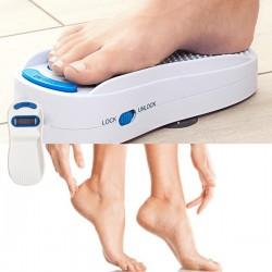 la râpe automatique anti-callosité pour pieds