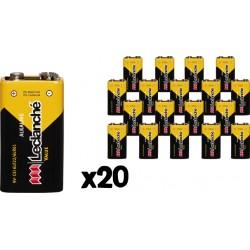 Set de 20 piles 6lF22