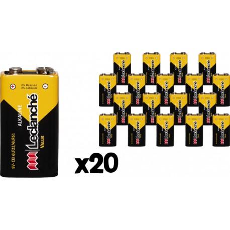 Set de 20 piles Boutons Lithium 2032