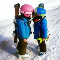Le porte-Skis mains libre Sac à dos SnowBag