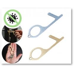 Set de 2 Porte clé sans contact (tactile)