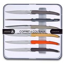 COFFRET 6 COUTEAUX LAGUIOLE