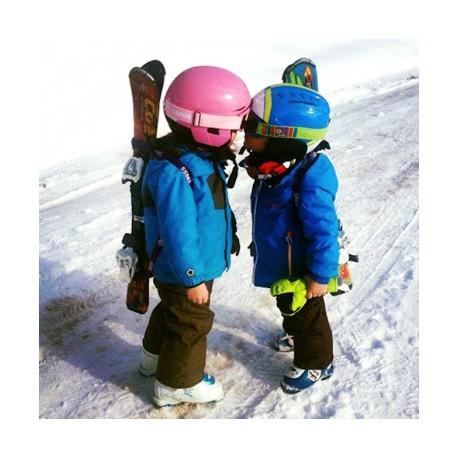 Le porte-Skis mains libre SnowBag