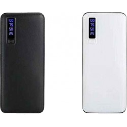 Batterie externe 20000mAh avec lumiere LED et 3 USB