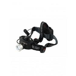 lampe frontale LED avec zoom et feu arrière