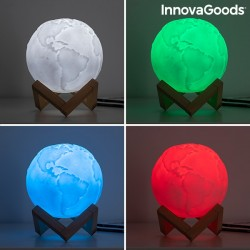 LAMPE LED GLOBE/TERRE RECHARGEABLE