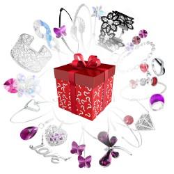 Pochette Surprise Spéciale bijoux avec cristaux de Swarovski !