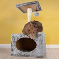 Arbre à chat avec maison